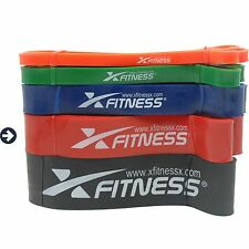 xFitness Pull Up Assist & Resistance Band - #4 Red - 50-125 lbs Resistance