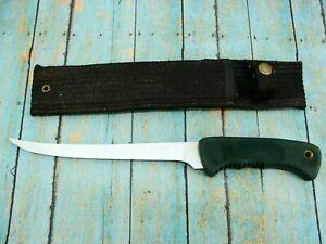 BIG VINTAGE SCHRADE USA OLD TIMER 147OT FIXED BLADE FISHING FILET KNIFE KNIVES