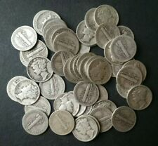 Lot of 50 10c Winged Liberty Silver Dimes