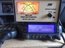 Vintage Kenwood TM-V7 Dual Bander & MA-4000 ANT Duplexer & MFJ-860 SWR Wattmeter