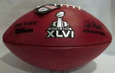 Wilson Super Bowl XLVI Official Game Football (46) - New York Giants