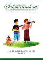 Violine Noten : Früher Anfang auf der Geige Band 3 Frühes Duospiel SASSMANNSHAUS