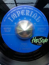 J.D. EDWARDS 45 RE- HOBO/CRYING- AWESOME IMPERIAL GUITAR BLUES BOPPER LISTEN