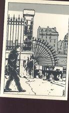 TARDI Jacques carte postale cp 8/8 postcard postkaart postkarte Grande roue 1982