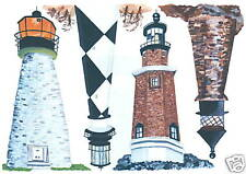 Lighthouses Wall Creative Art Transfer Decal Wall Decor Tatouage
