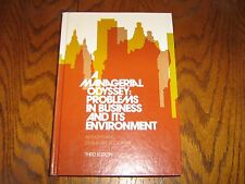 Managerial Odyssey:Problems in Business and Its Environment 1981 (Hardcover)