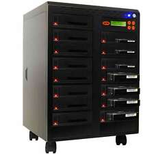 Systor 1:16 Dual Port Hard Drive Duplicator - Copy & Erase HDD/SSD at High Speed