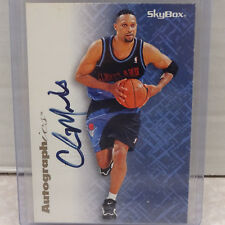 1996-97 SkyBox Autographics Chris Mills Cleveland Cavaliers ON CARD Auto