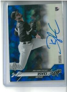2020 Topps Chrome Sapphire Edition DYLAN CEASE #CSA-DC RC Rookie Auto