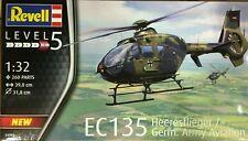 Revell Hobby - 1/32 EC 135 Heeresflieger / German Army Aviation