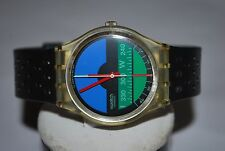1986 Swatch Watch GK-102 NAUTILUS Mario Fani Unisex Design Swiss Quarz Original