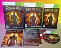 Deus Ex Human Revolution  Microsoft Xbox 360 Game Complete Near Mint Disc Tested