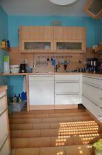 Teil-Küchenzeile Nobilia: Spüle mit Unterschrank, Spülmaschine, 1 Hängeschrank