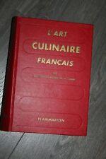 """Ali-Bab,Montagné,Escoffier,Guérot """"L'Art culinaire Français"""" /Flammarion 1964"""