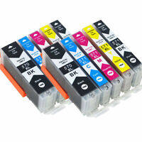 10x Ink Cartridge Printer PGI 570 XL CLI571 For Canon PIXMA MG7750 MG7751 MG7752
