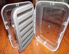 Fly fishing box Clear Lid Split Foam New