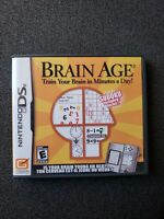 Nintendo DS Brain Age (Complete, Works, Tested)