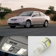 7x White LED Lights Interior Package for Honda CIVIC 2001-2005 Coupe
