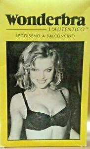 REGGISENO WONDERBRA L'AUTENTICO art.7157 BALCONCINO IN PIZZO Valorizza il seno.