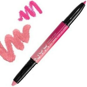 2 x NYX OMBRE LIP DUO-LIPSTICK AND LIPLINER - YOU CHOOSE THE SHADE NIB