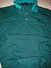 Polo Golf Ralph Lauren Light Peruvian Pima Cotton Shirt-Moisture Management- L