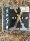 The X-Files (Sony PlayStation PS1) Complete CIB w/ Manual 4 Discs, Tested Works