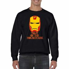 Funny Mens Printed Sweatshirts gift-Tony of The House Stark-Avengers Inspired