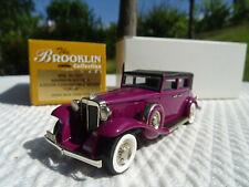 Voiture Brooklin Models Collection Marmon 16 Convertible Sedan 1938 - BRK 96 -