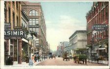 St. Paul MN Wabasha St. c1910 Detroit Publishing Postcard EXC COND
