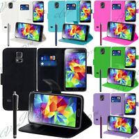 Housse Etui Coque Pochette Portefeuille Support Video Pour Samsung Galaxy Seri S