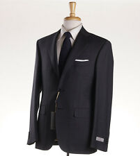 NWT $2095 CANALI 1934 Gray Woven Check Wool Suit 44 R (Eu 54) Modern-Fit