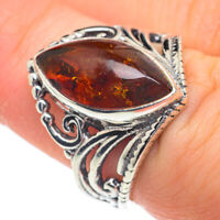 Baltic Amber 925 Sterling Silver Ring Size 7 Ana Co Jewelry R62182F
