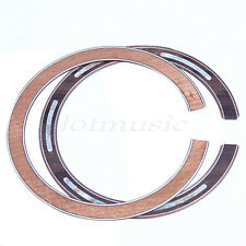 2 Pcs Soundhole Rosette Acoustic Guitar Abalone Inlay Rosewood