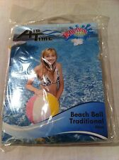 Air Time Inflatable Beach Ball Pool Toy Splash 50cm Brand New In Packet Balls
