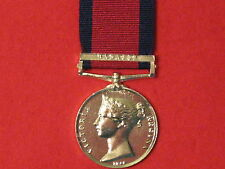 FULL SIZE MILITARY GENERAL SERVICE MEDAL MGS BADAJOZ MUSUEM COPY WITH RIBBON.