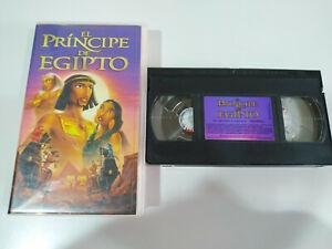 EL PRINCIPE DE EGIPTO - VHS CINTA TAPE ESPAÑA