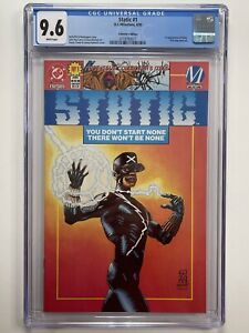 Static #1 - CGC 9.6 (DC 1993 - 1st appearance of Static. Collector's Edition)