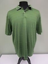 Adidas Polo Shirt Climacool Breathable Short Sleeve Green Athletic Mens Size L