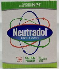 Neutradol Solid Air Freshner GEL Super Fresh 140g X12