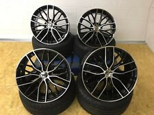"""BMW 19"""" 405 M PERFORMANCE Style ALLOY WHEELS 5X120 + 4 NEW TYRES F30 F10 E92 E93"""