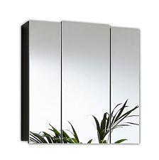 Spiegelschrank 3türig Wandspiegel Badezimmerschrank Posseik anthrazit Neu/Ovp