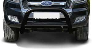 Frontbügel Bullenfänger Ford Ranger (12-18) Schwarz inkl. EG-Typengenehmigung