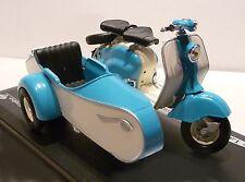 LAMBRETTA LD 125 * 1958 con carrozzetta * Blu/Bianco * solido 1:18 *
