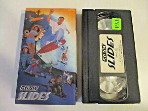 Gravity SLIDES VHS 1990s Skateboarding Skate Video - Longboarding at it's best