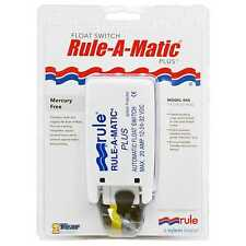 Rule 40A Rule-A-Matic Float Switch Plus 12V 24V 32V DC Marine Boat Bilge Retail