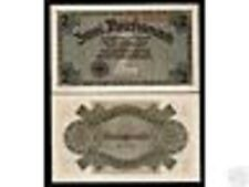 GERMANY 2 MARKS P R137 1940 OCCUPIED TERRITORIES WWII UNC MONEY WAR BANK NOTE