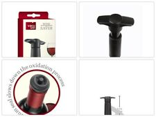 Wine Saver with 2 Vacuum Stoppers The Original Vacu VinTop Quality