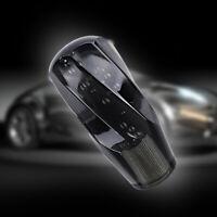 JDM 10CM Crystal Black Bubble Shift Knob  Manual Racing Gear Shifter M8 M10 M12