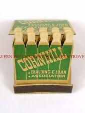 1930s Cornhill Mortgage Utica New York FEATURE matchbook Tavern Trove