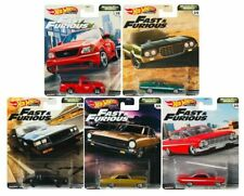 2020 Hot Wheels Fast and Furious Motor City Muscle Set of 5 Cars 1/64 Diecast